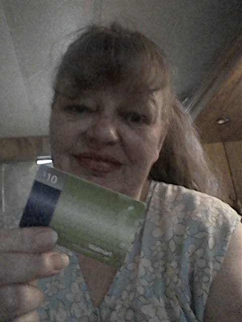 Cathy won this $10 gift card for $0.09 using 4 real bids! #QuiBidsWin