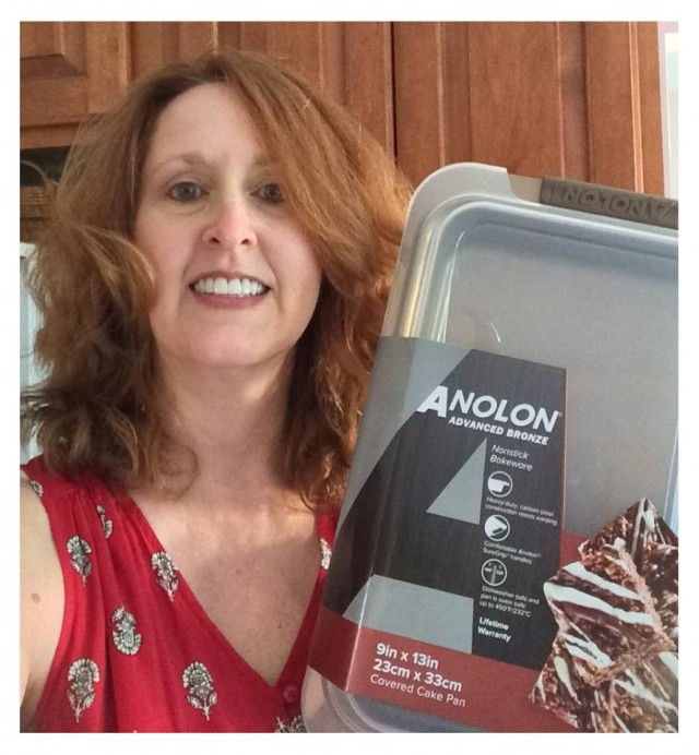 Connie won this Anolon cake pan set for $3.54 and used only 23 voucher bids! #QuiBidsWin