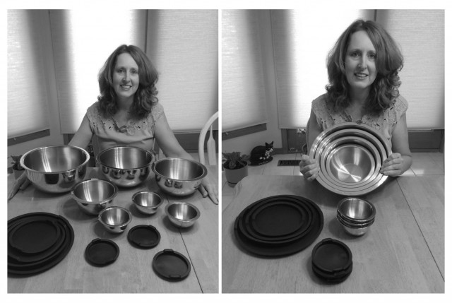 Connie won this Wolfgang Puck 14pc mixing bowl set for $0.63 using only 20 voucher bids and 4 real bids! #QuiBidsWin