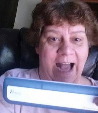Jodi won this UV toothbrush sanitizer for $0.44 using only 22 voucher bids! #QuiBidsWin