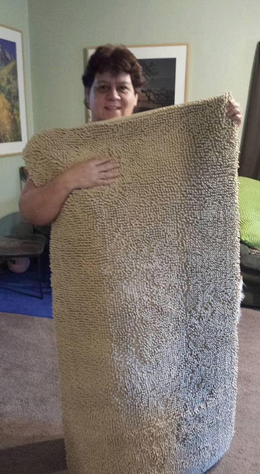 Jodi won this shag rug carpet for $0.18 using only 6 real bids and saved 93%! #QuiBidsWin