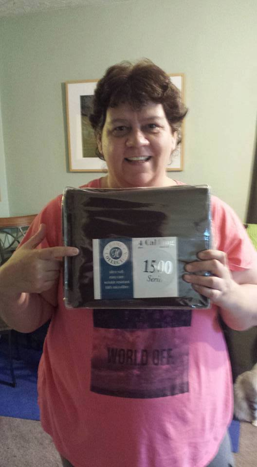 Jodi used 23 real bids to win this microfiber sheet set for only $0.47 and saved 70%! #QuiBidsWin