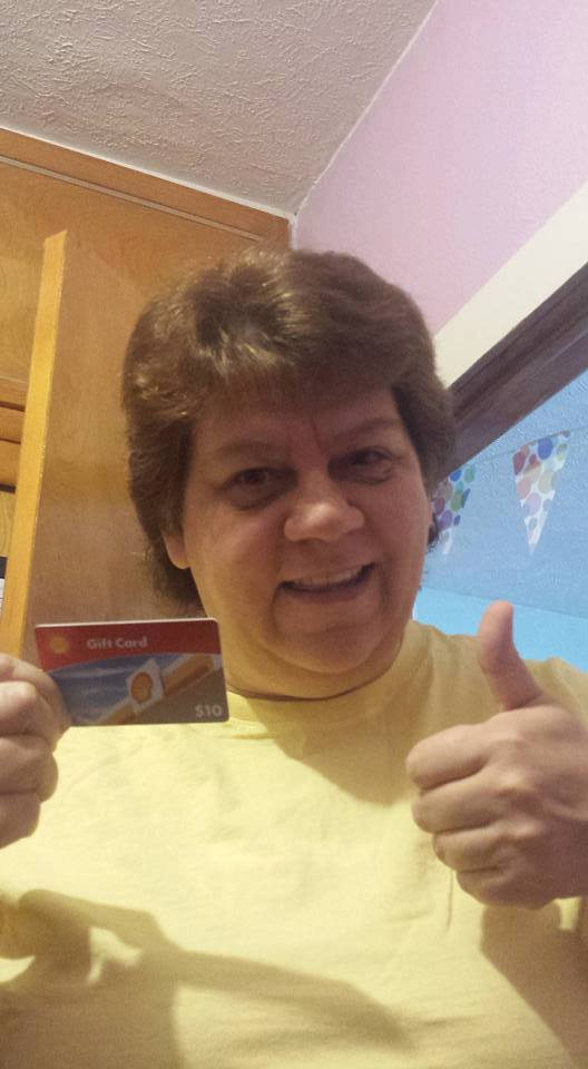Jodi won this $10 gas card (+20 free bids) for $0.62 using only 5 voucher bids! #QuiBidsWin