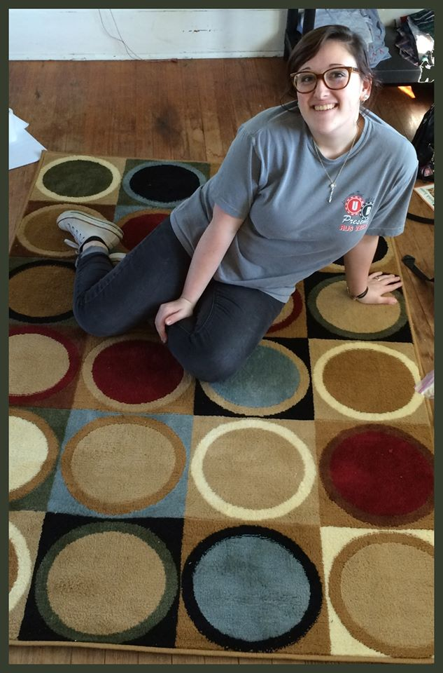 Connie used 20 voucher bids and 11 real bids to win this rug for $6.88 and saved 81%! #QuiBidswin
