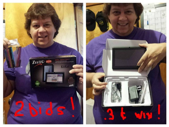 Jodi saved over 90% on these two electronics wins! #QuiBidsWins
