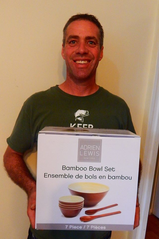Doug won this 7pc bamboo set for $0.27 using only 6 voucher bids! #QuiBidsWin