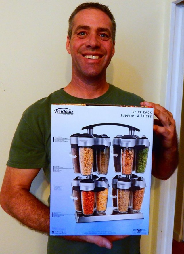 Doug used 5 voucher bids to win this spice rack for only $0.29! #QuiBidsWin