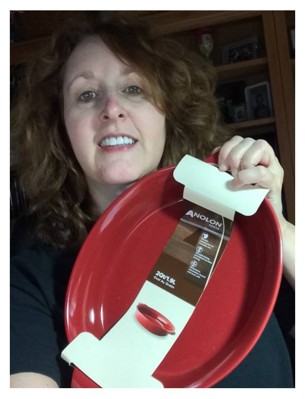 Connie won this stoneware bowl for $1.54 using only 10 voucher bids and 13 real bids! #QuiBidsWin