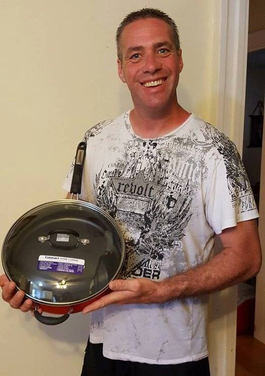 Doug used 6 voucher bids to win this nonstick pan for only $0.38! #QuiBidsWin