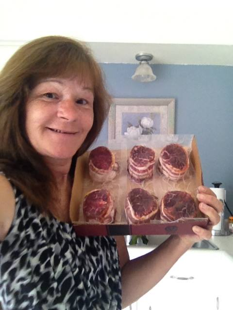 Janise won this Omaha Steaks package for $0.22 using only 7 voucher bids! #QuiBidsWin