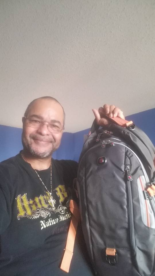 Jeffrey won this backpack for $0.53 using only 6 voucher bids! #QuiBidsWin