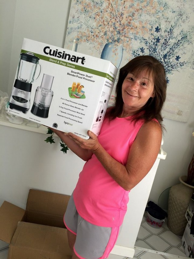 Janise won this Cuisinart blender for $6.74 using 116 voucher bids and saved over $100! #QuiBidsWin