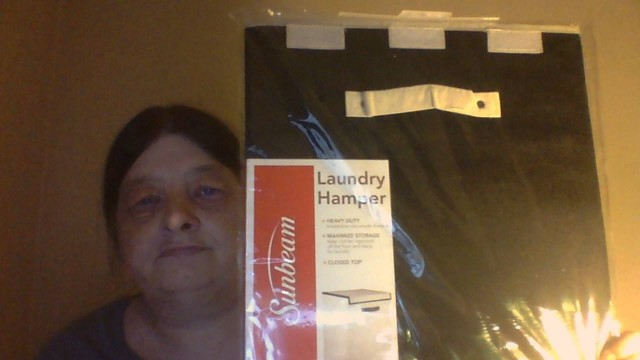 Lisa won this laundry hamper for $0.01 using only 1 voucher bid! #OneBidWin