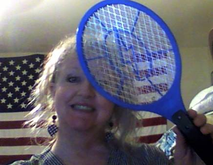Teresa won this bug zapper for $0.05 using only 2 voucher bids and saved 99%! #QuiBidsWin