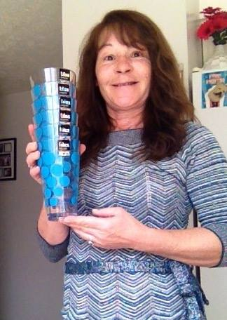 Janise won this tumbler set for $0.02 using only 1 voucher bid! #OneBidWin #QuiBidsWin