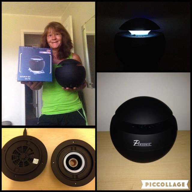 Janise used 29 voucher bids to win this aromatherapy diffuser for $0.63! #QuiBidsWin