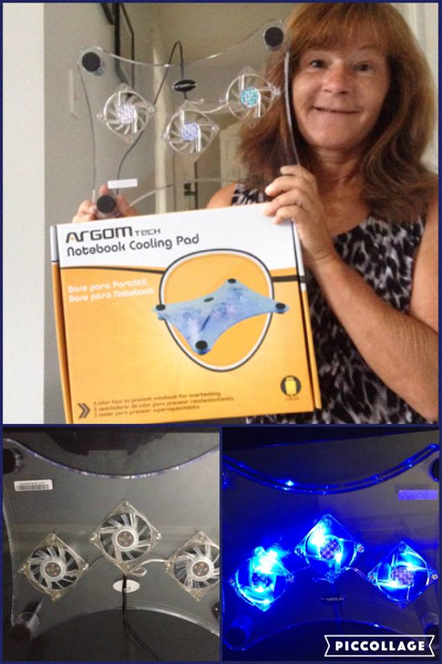 Janise won this laptop cooling pad for $0.62 using 12 voucher bids! #QuiBidsWin