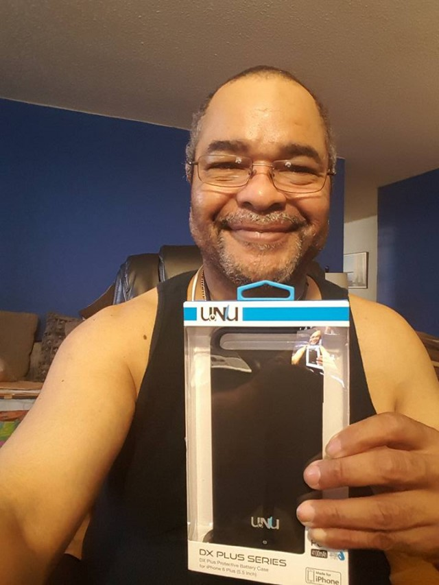 Jeffrey won this iPhone 6 battery case! #QuiBidsWin