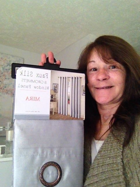 Janise won these curtain panels for $0.18 using 6 voucher bids! #QuiBidsWin