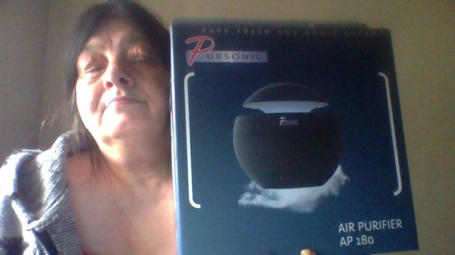 Lisa won this air purifier on QuiBids.com!