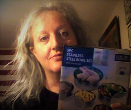 Teresa won this food storage container set for $0.02 using only 1 voucher bid! #OneBidWin