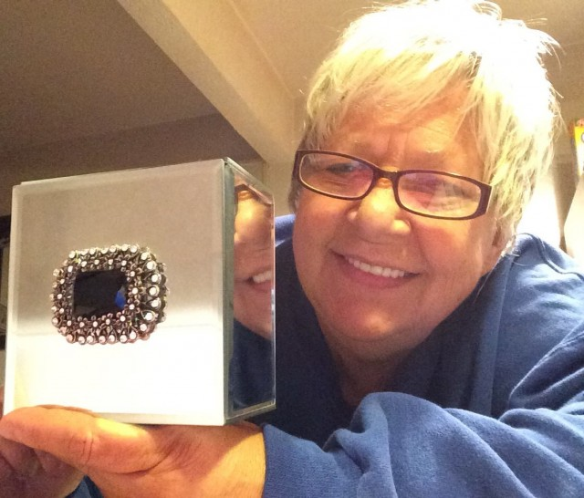 Appy won this jewelry box with boorch for $1.21 using 54 voucher bids and saved 96%! #QuiBidsWin