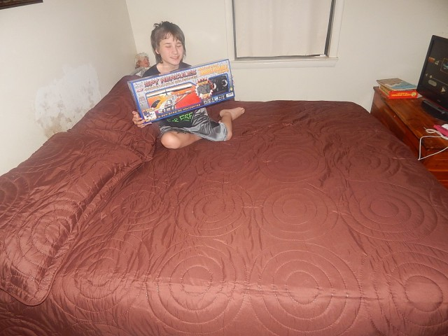 Robert won this quilt set for $0.11 using only 2 voucher bids! #QuiBidsWin