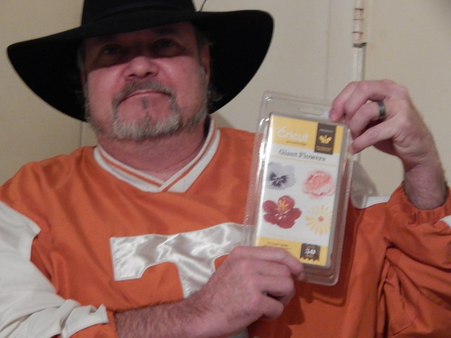 Robert won this Cricut flower cartridge for $0.01 using only 1 voucher bid! #QuiBidsWin #OneBidWin