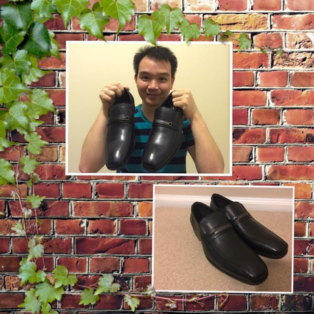 Hallow used 7 voucher bids to win these dress shoes for only $0.15! #QuiBidsWin