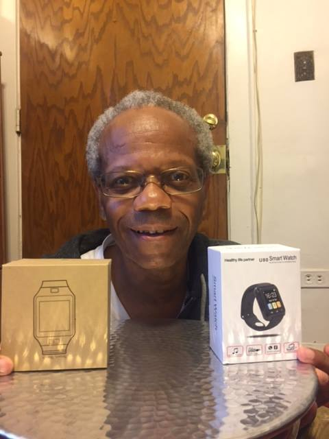 Albert won two smart watches on QuiBids at great discounts!  #QuiBidsWins
