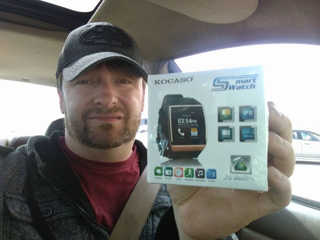 Steve used 3 real bids to win this smart watch for only $0.13! #QuiBidswin
