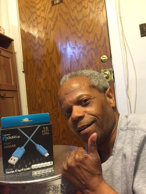 Albert won this 10ft USB cable (+1X Gameplay) for $0.85 using 18 real bids! #QuiBidsWin