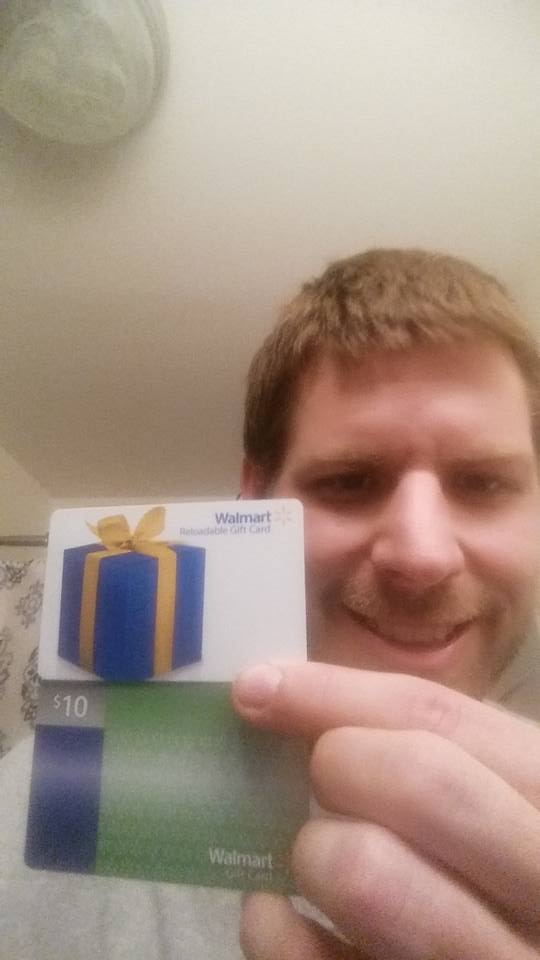 Michael wont these gift cards on QuiBids with huge savings!