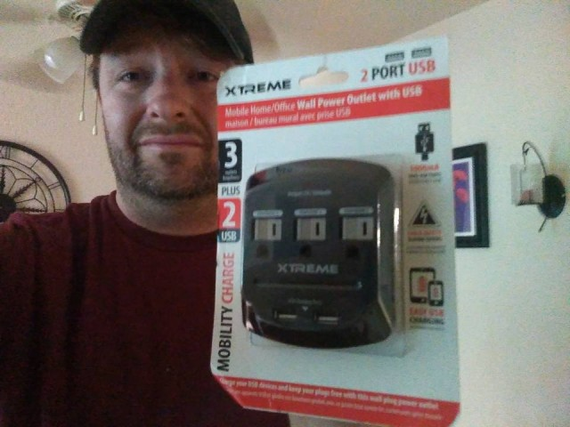 Steve won this power adapter for $0.33 using 15 voucher bids! #QuiBidsWin