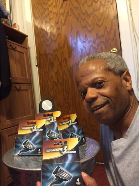 Albert won this 16pc razor set for $0.01 using only 1 voucher bid! #OneBidWin