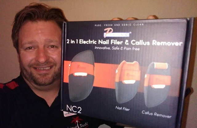 Steve used 13 voucher bids to win this nail filer for only $0.26! #QuiBidsWin