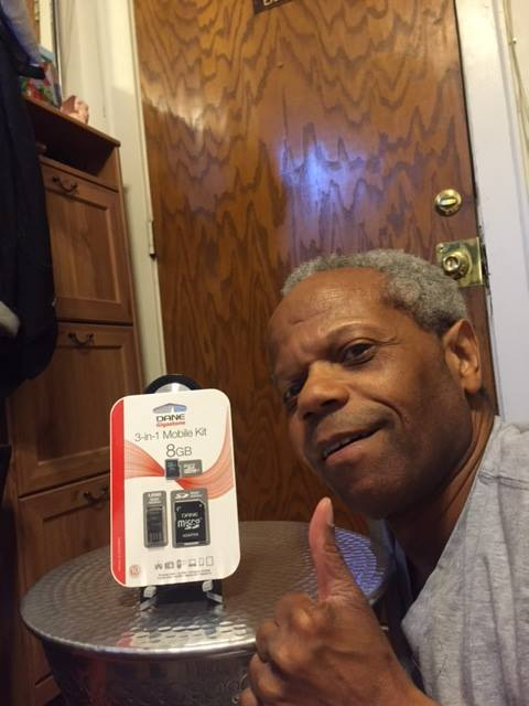 Albert won this micro SD card for $0.18 using only 2 voucher bids! #QuiBidsWin