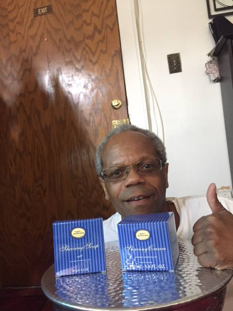 Albert won this shaving soap refill for $0.65 using 32 voucher bids and saved 99%! #QuiBidsWin