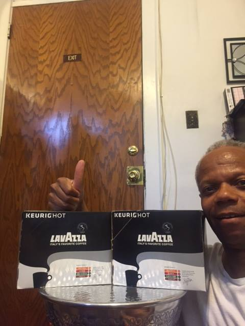 Albert won this 48pc k-cup pack for $0.37 using 15 real bids and saved 85%! #QuiBidsWin