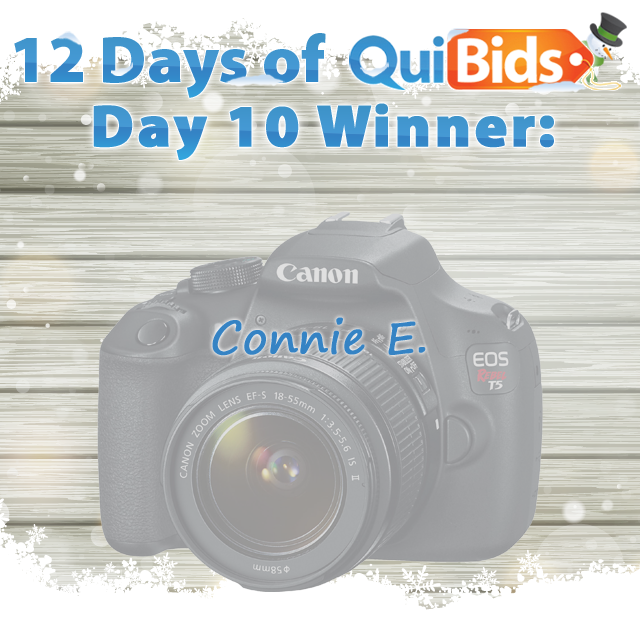 Day 10 Winner - Connie E.
