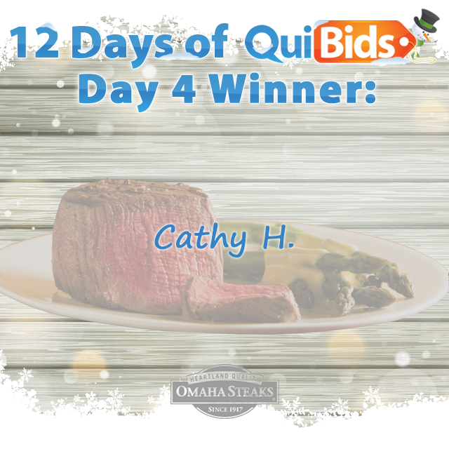 Day 4 Winner - Cathy H.