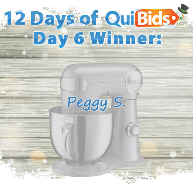 Day 6 Winner - Peggy S.