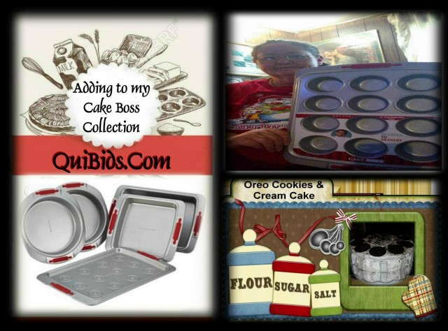 Phyllis won this Cake Boss 5pc Bakewares set for $1.92 total investment! #QuiBidsWin