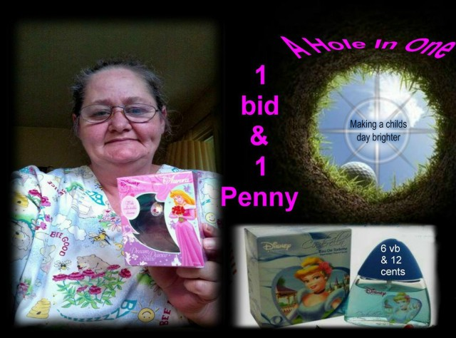 Phyllis won this Cinderella perfume for $0.13 using only 7 voucher bids! #QuiBidsWin