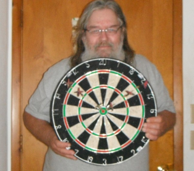 William won this dart board for $0.32 using 7 real bids! #QuiBidsWin