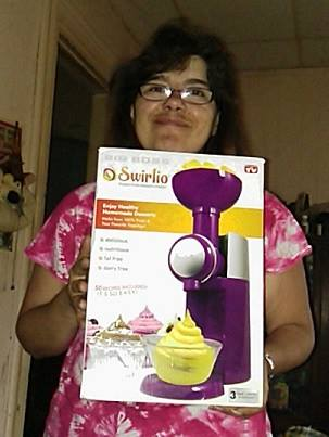 Casimina won this Swirlio frozen fruit dessert maker for $2.51 using 27 voucher bids! #QuiBidsWin