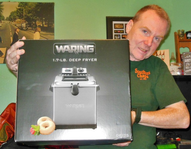 Martin won this deep fryer for $0.45 using 8 voucher bids! #QuiBidsWin