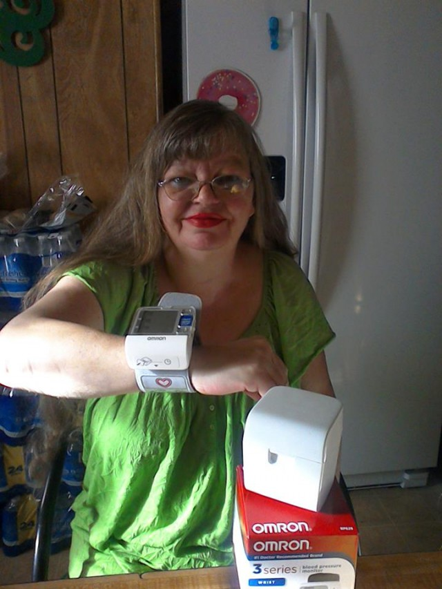 Cathy won this blood pressure monitor for $0.17 using 9 real bids! #QuiBidsWin