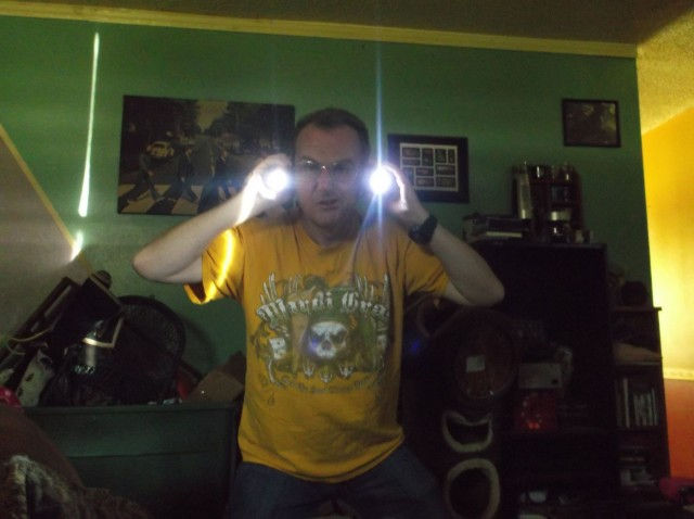 Martin won these LED lights for $0.37 using only 13 voucher bids! #QuiBidsWin