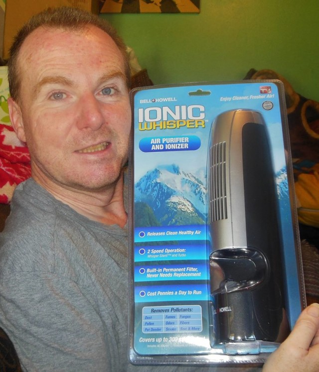 Martin used one voucher bid to win this air purifier for only $0.01! #OneBidWin
